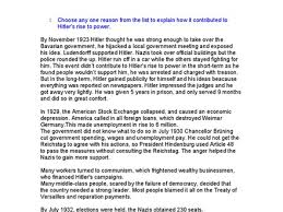 hitler rise to power essay gattacathesisxfccom adolf hitler rise  hitlers rise to power essay