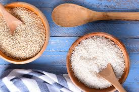 it s important to first acknowledge that brown rice and quinoa although culinarily similar both are boiled in roughly 1 ½ 2 parts water to 1 part grain