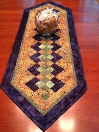 342 best Autumn Quilts images on Pinterest | Patchwork, Crafts and ... & Beautiful table runner pattern. Colors for late summer, fall. Adamdwight.com