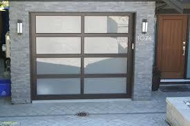 aluminum glass garage doors s new full view northwest doors model mc 800 with satin etched glass