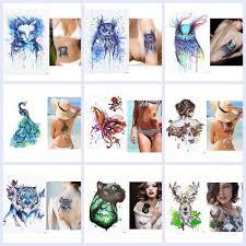 водонепроницаемая временная татуировка наклейка тату боди арт тату