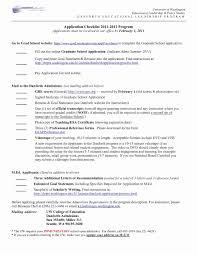 Resume For Graduate School Admission Luxury Grad School Resume