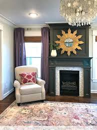 fireplace tile paint colours fireplace