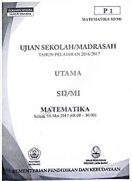 Namun mulai tahun 2014 menteri pendidikan mengisyaratkan ujian nasional tidak menjadi syarat kelulusan kamu. Arsip Soal Ujian Nasional Un Sd Mi Naskah Asli Lengkap Semua Tahun Semangat27