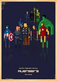 avengers 8 bit