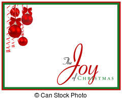 Christmas Notecard Christmas Abstract Note Card With Text