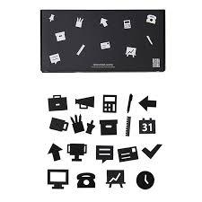 Office Icons Schwarz Von Design Letters