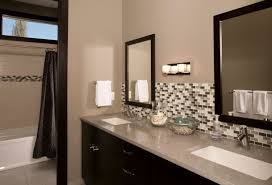 backsplash bathroom ideas. The Backsplash In A Bathroom Is Not Always Framed By Cabinetry Or Shelves And Sometimes This Ideas G