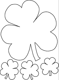 Shamrock Coloring Page Shamrock Coloring Page Coloring Page Book For Kids