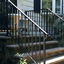 outdoor stair railing ideas iron porch railings stylish exterior wrought outdoor stair railings for front steps
