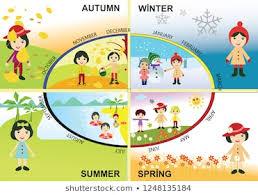 Chart On Winter Season Seasons Chart Stock Vectors Images Vector Art Shutterstock