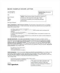 Resume Objective Paragraph Best of Examples Of Cover Letters For A Resume Basic Cover Letter For Resume