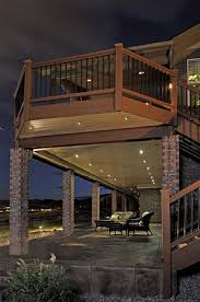 lighting for decks. light kits outdoor low voltage led lighting the perfect recessed for decks patios landscape l