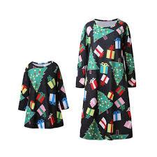 Jqz0014 Long Parent Child Wear Dress