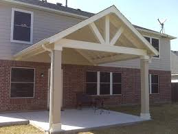 Superb Covered Patio Plans 9 Gable Roof Patio Cover Plans