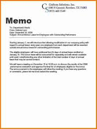 Writing A Business Memo Example - Kleo.beachfix.co