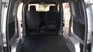2015 Chevrolet City Express Work Van Interior Design - YouTube