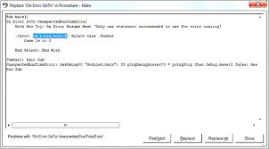 Vba Error Resume Next Tutorialhow Make Multy Auto Typer Fine Excel
