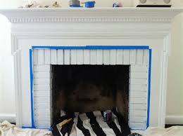 inside fireplace paint brick anew blog