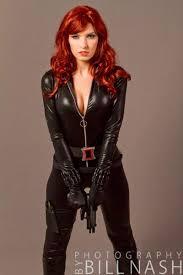 viuda negra black widow cosplays