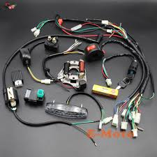 popular complete wiring harness buy cheap complete wiring harness 50cc Scooter Wiring Harness complete electrics wiring harness coil cdi stator tail light assembly 50cc 70cc 90cc 110cc 125cc atv gy6 50cc scooter wiring harness