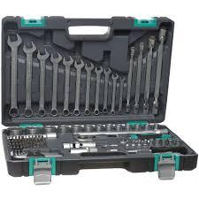 <b>Набор инструментов Stels</b> 14109 <b>1/2</b>'' 1/4'' CrV пластиковый кейс ...