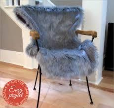 cozy faux fur pelt cut chair throw fabric depot sew4home
