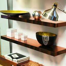 DIY Copper shelves w/ IKEA Lack shelves and copper contact paper... 22