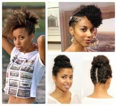 Natural Updos For Medium Length Hair Summer Hairstyles For Natural