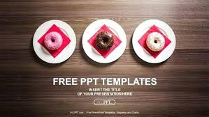 Free Food Powerpoint Templates Delicious Fast Food Template Backgrounds Google Slides Fresh