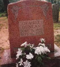 DUNCAN, ORA LEE MEDLOCK SNYDER - Sharp County, Arkansas | ORA LEE MEDLOCK  SNYDER DUNCAN - Arkansas Gravestone