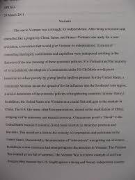 digication e portfolio benjamin weber teaching portfolio  below please an example of a student essay on the vietnam war