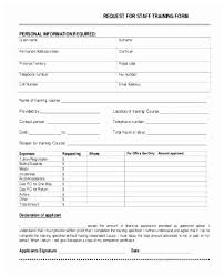 Training Request Form Template Awic2007 Printable Personal Training ...