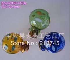 hand blown color point ball diy glass wishing bottle vial pendantminiature pendantglass blown glass bottle pendant