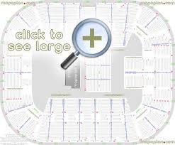Eaglebank Arena Seat Row Numbers Detailed Seating Chart