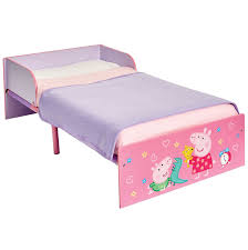 Peppa Pig Bedroom Furniture Official Character Toddler Bed With Protective Panel Paw Patrol
