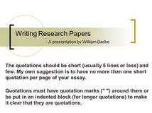 Footnotes for research paper  startnotes