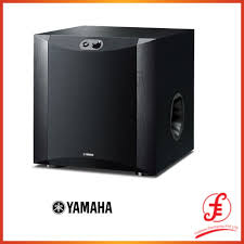 Yamaha NS-SW300 10 inch 250 Watts Active Subwoofer (with Twisted Flare Port  Technology) (300 SW300 NSSW300)