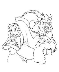 Small Picture 28 best Beauty and the Beast coloring book images on Pinterest
