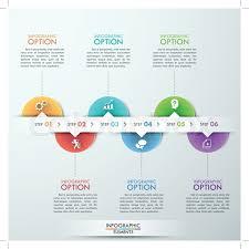 Process Template Modern Infographics Process Template Stock Vector Colourbox