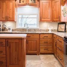 cabinet custom kitchen natural cherry