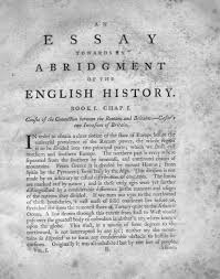 hyde collection catablog edmund burke an essay towards an abridgment of the english history ec75