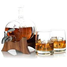 custom whiskey glasses barrel whiskey decanter full set with whiskey glasses custom stand and whiskey stone monogrammed glencairn whiskey glasses