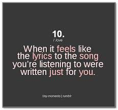 Beautiful Song Quotes