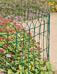 Decorative Wire Tray Decorative Wire Border Fence In 100 Heights Gardeners Com Fencing 95