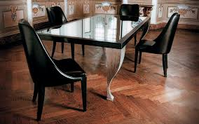 cool dining tables homes kitchen table decor wooden decorating ideas black glass dining