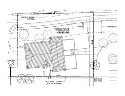 simple site development plan drawing