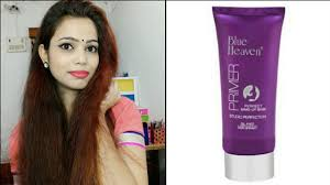 blue heaven primer review hindi indian beauty