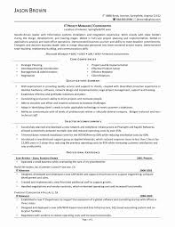 Keywords For Program Manager Resume Best Of Alluring Sample
