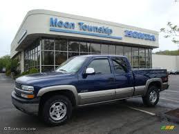 2000 Indigo Blue Metallic Chevrolet Silverado 1500 Z71 Extended ...